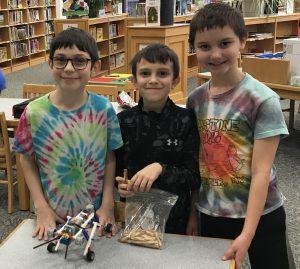 3 boys with LEGO