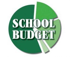 School budget pie chart