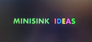 Minisink ideas sign