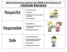 inside recess poster