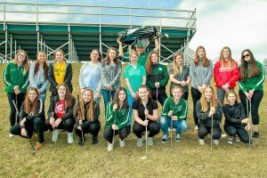 girls varsity golf team