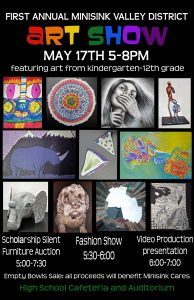 Poster of art show