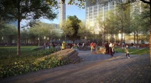 9/11 Memorial Glade rendering
