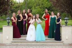 Junior Prom girls