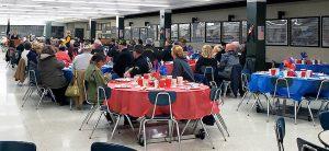 Image from last year's veterans dinner