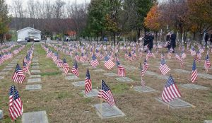 Flags at the OC Veterans Cemetery