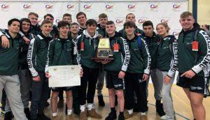 varsity boys wrestling team