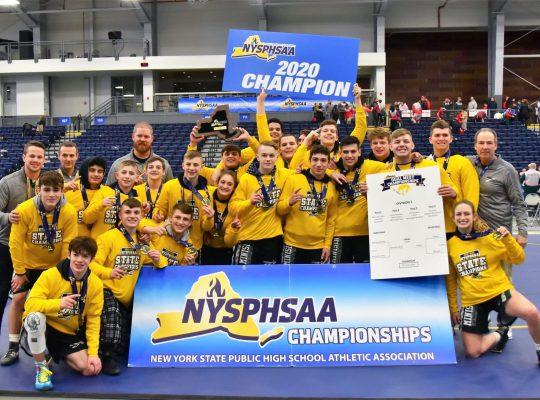 state champion wrestling team