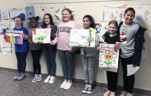 group of kindness posters winners