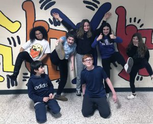 Middle school Odyssey of the Mind team