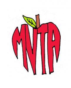 MVTA logo of an apple