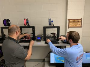 Teachers with 3D Printers