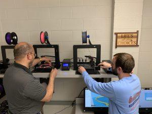 Teachers with 3D Printers