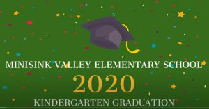 Minisink Elementary Kindergarten graduation poster