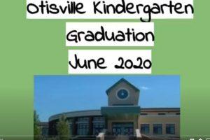Poster of Otisville Kindergarten virtual graduation cover