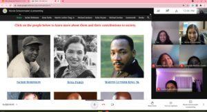 black history month website image