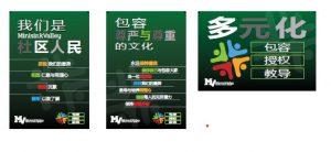 Chinese language posters