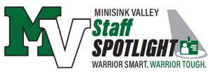 Staff spotlight art