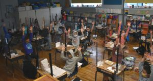 Intermediate School classroom