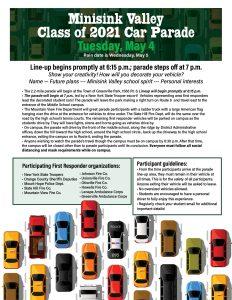 Car parade poster