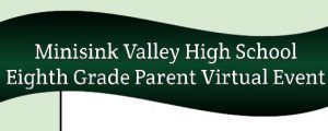 8th grade parent virtual event text