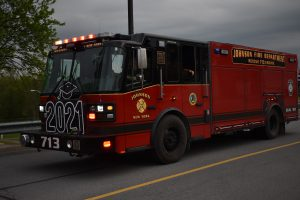 fire truck with 2021 sign