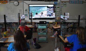 students at google meet