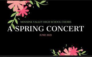 high school spring concert