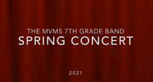 seventh-grade spring concert