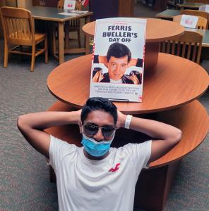 Student as Ferris bueller