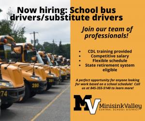 revised bus recruitment poster